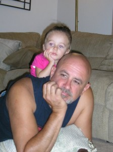 Madison and her daddy