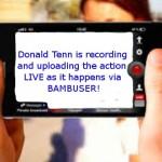 Donald Tenn uses Bambuser SO SHOULD YOU!